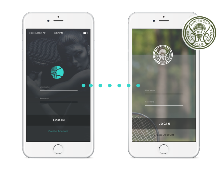 Play Tennis Connect app white label for your club